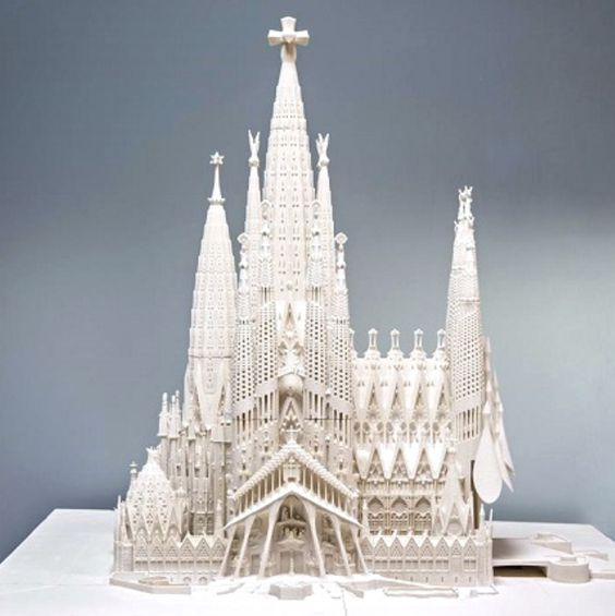3D printing architecture models