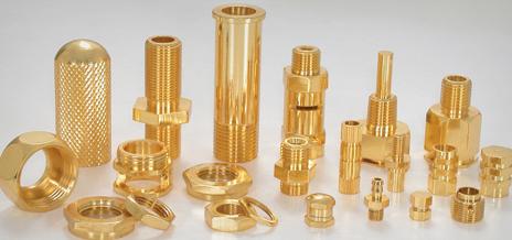 Brass part
