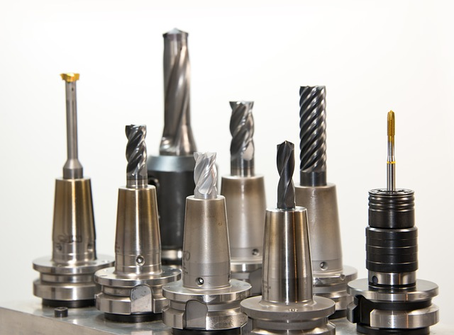 CNC milling rotary burrs