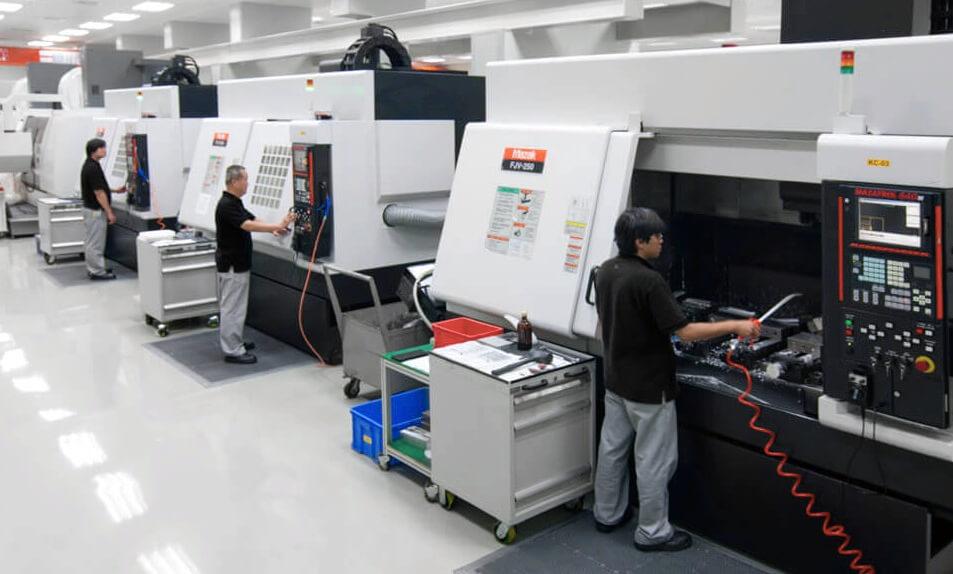 cnc machining workshops