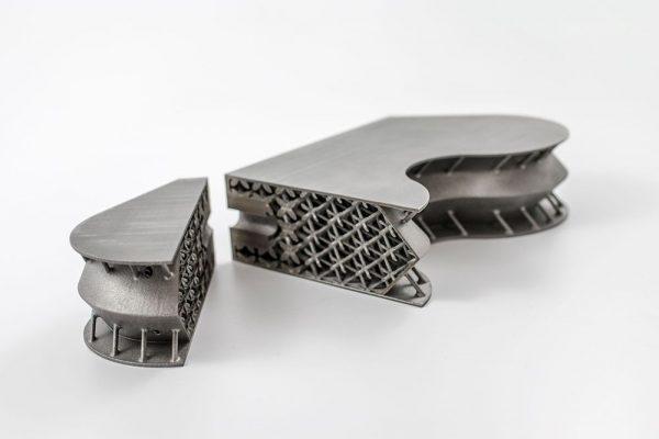 metal 3d printing applications atos satellite inserts titanium