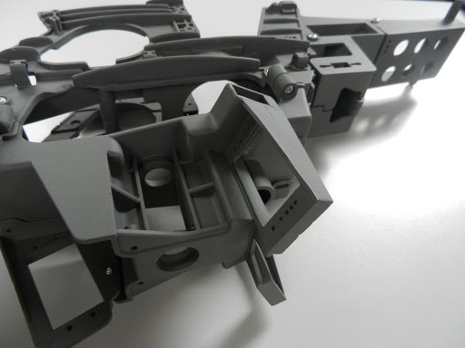 vacuum casting and assembled components