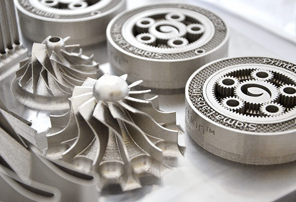 Metal 3d printing for aerospace