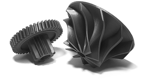 3D printed compressors and gears