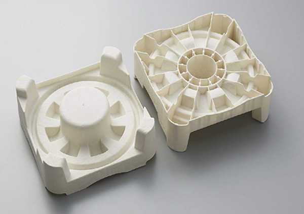 Pulp injection molding products