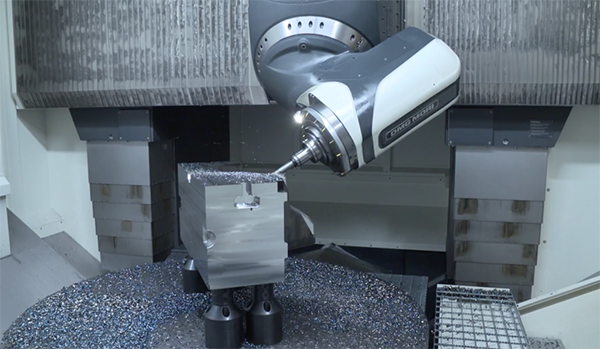 5-axis cnc milling machines